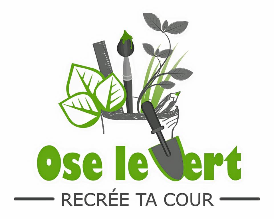 "Logo ""Ose le vert !"""